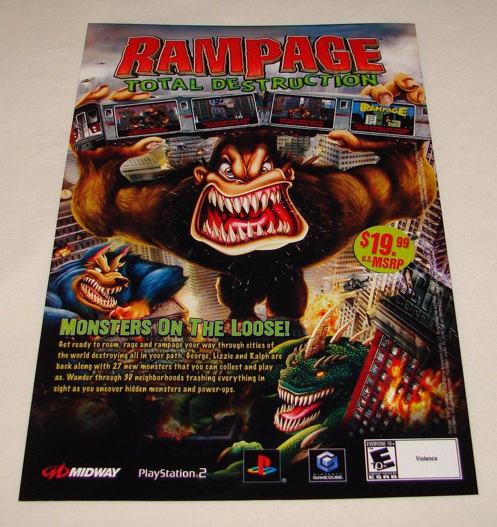 2006 Rampage Total Destruction 6 9 Inch Shop Whatever Wilmington