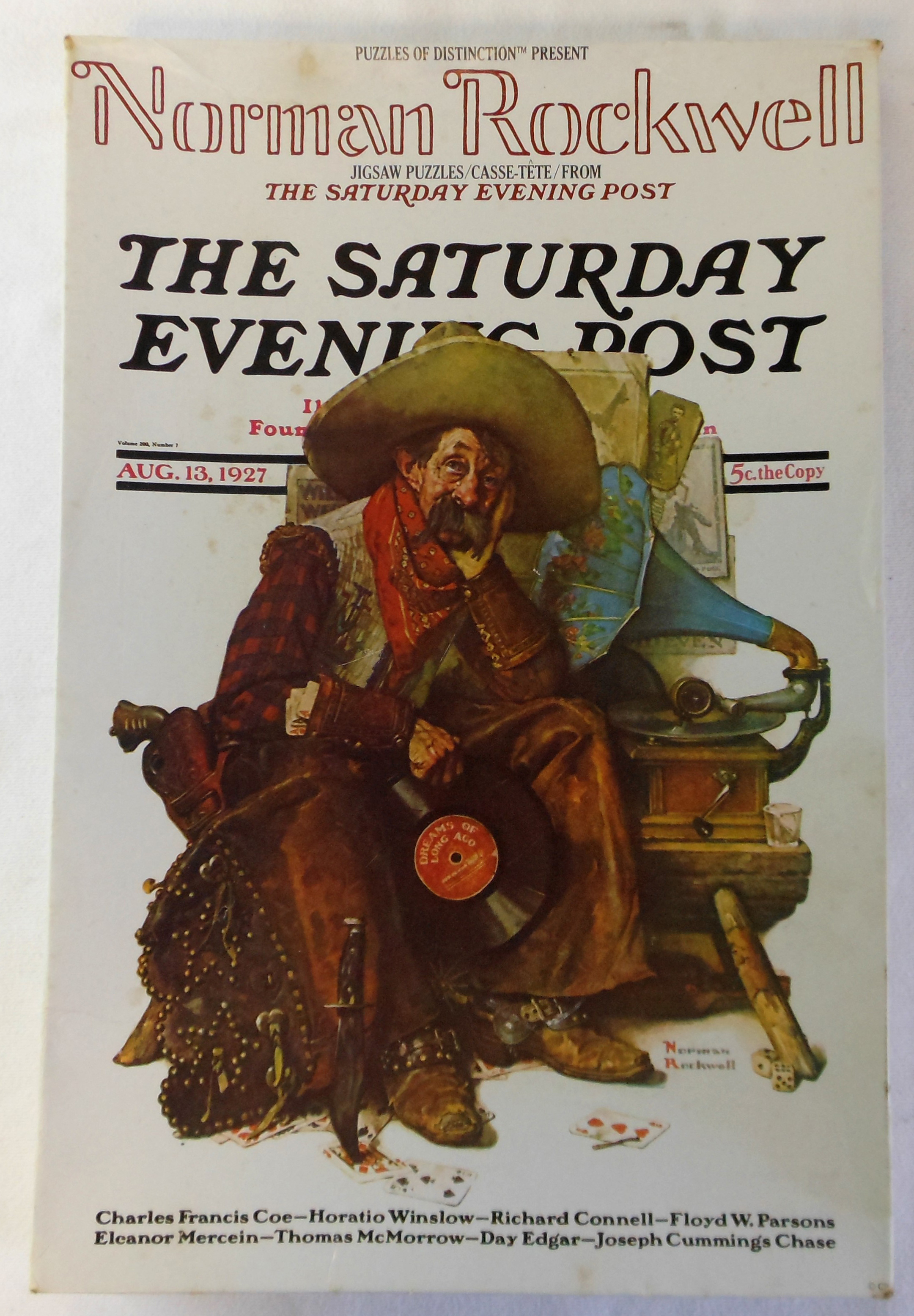 Norman Rockwell Saturday Evening Post Jigsaw Puzzle 18x24 551